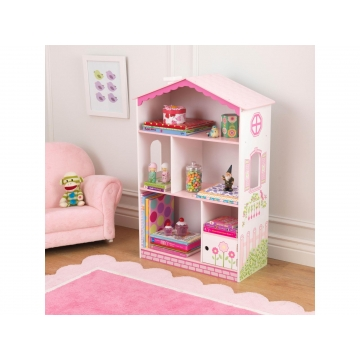jouets des bois biblioth que petite maison de poup e en. Black Bedroom Furniture Sets. Home Design Ideas