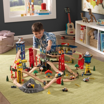 jouets des bois circuit de train 17809 kidkraft jouets des bois. Black Bedroom Furniture Sets. Home Design Ideas