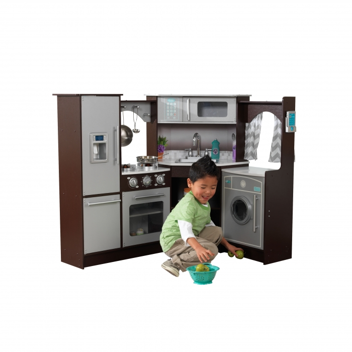 Realistic Play Kitchen Ultimate Corner With Lights And: JOUETS DES BOIS Coin Cuisine En Bois 53365 Jouets En Bois