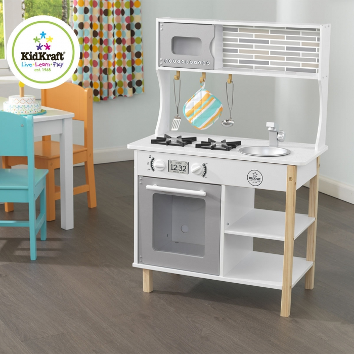 jouet en bois 53379 cuisine little bakers kidkraft jouets. Black Bedroom Furniture Sets. Home Design Ideas