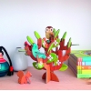 Carte à construire pop-out : Arbre en 3D Jouets des Bois Carte à construire pop-out Arbre en 3D 5074824 Petit Collage