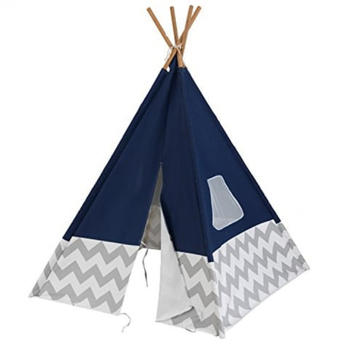 jouets des bois tipi bleu marine kidkraft 00228 jouet en bois. Black Bedroom Furniture Sets. Home Design Ideas