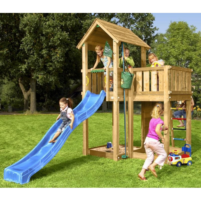jouets des bois tour de jeux en bois jungle mansion jungle gym. Black Bedroom Furniture Sets. Home Design Ideas