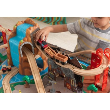 ensemble-train-et-table-waterfall-junction jouets-des-bois-ensemble-train-et-table-waterfall-junction-kidkraft-17498-jouet-en-bois