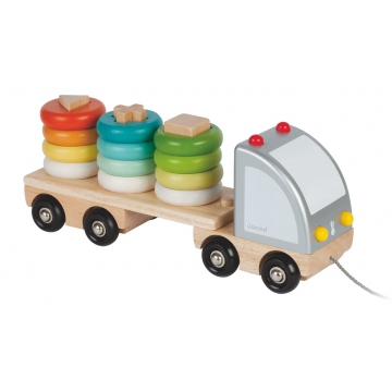 camion-multi-colors camion-en-bois-janod-multi-colors