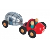 Kit magnet caravane + pick up  Kit Magnet en bois JANOD caravane et pick up