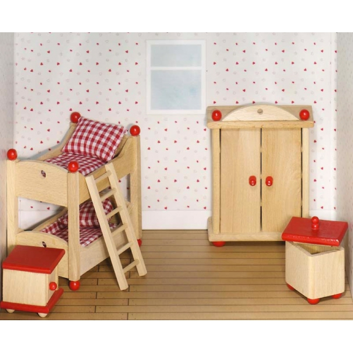 jouet en bois meubles pour maison de poup es en bois. Black Bedroom Furniture Sets. Home Design Ideas