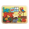 Chunky puzzle animo Puzzle en bois JANOD Chunky puzzle animo