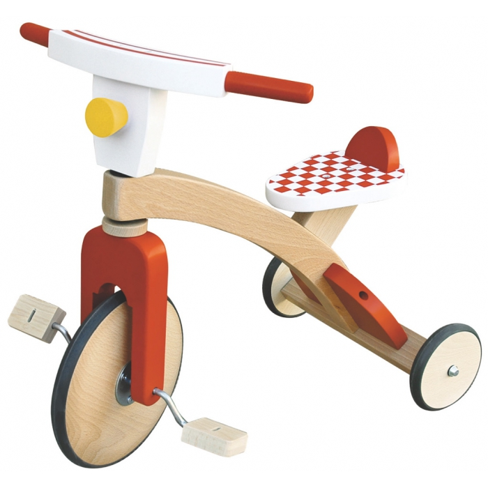 jouets des bois tricycle v lo draisienne en bois scratch jouet des bois. Black Bedroom Furniture Sets. Home Design Ideas