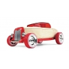 Voiture en bois : Hot Rod Rouge (HR1)  Voiture en bois AUTOMOBLOX  Mini Hot Rod HR1 rouge