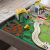 Ensemble table et circuit My Own City Vehicle jouet en bois Ensemble table et circuit My Own City Vehicle KIDKRAFT 18026 jouets des bois